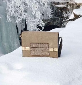 Delvaux Safari Sand/Lizard Madame XL Bag - Fall 2014
