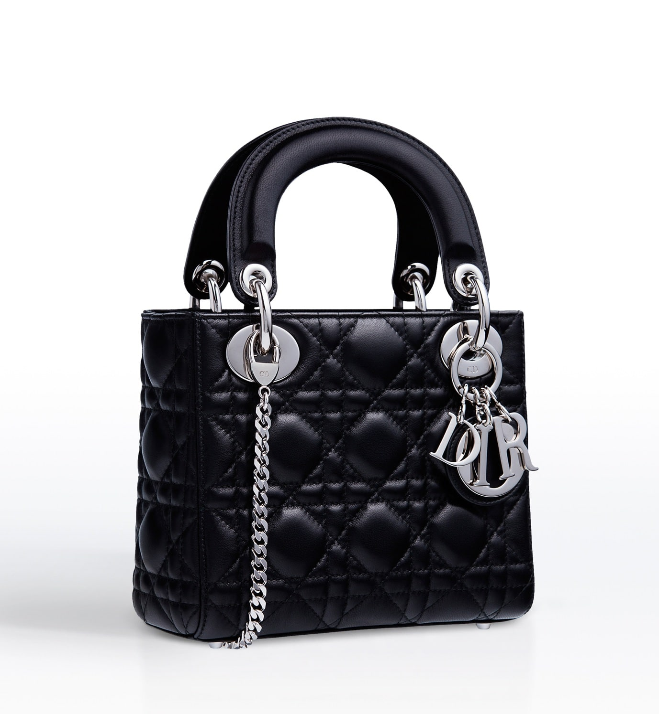 Dior Black Lady With Chain Mini Bag Cruise 2017