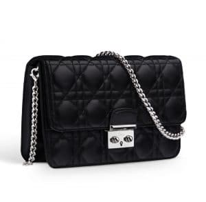 Dior Black Miss Dior Large Pouch Bag