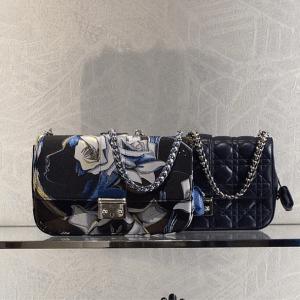 Dior Multicolor Floral Print:Black Miss Dior Bags - Cruise 2015