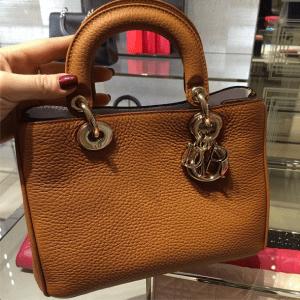 Dior Tan Diorissimo Mini Bag - Cruise 2015