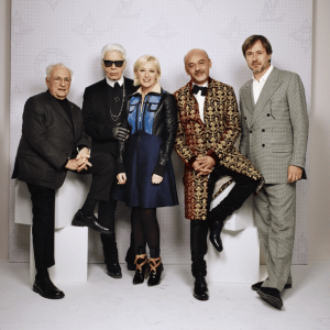 Frank Gehry, Karl Lagerfeld, Cindy Sherman, Christian Louboutin and Marc Newson