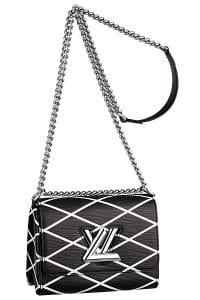 Louis Vuitton Black Epi Twist Malletage Bag - Cruise 2015