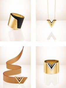 Louis Vuitton Close To Me Cuff PM/Essential V Pendant/30MM VVN/Cuff