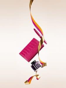 Louis Vuitton Fountain Pen Carte Du Tendre/Shiny Alligator Diary Cover PM/Ink Bottle