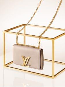 Louis Vuitton Galet Chain Louise MM Bag