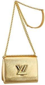 Louis Vuitton Gold Epi Twist Bag - Cruise 2015