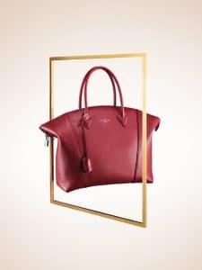 Louis Vuitton Griotte Lockit MM Bag