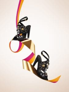 Louis Vuitton Noir Parure Sandal