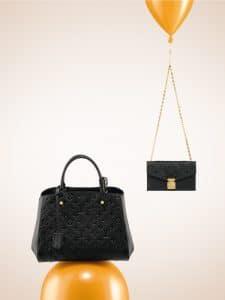 Louis Vuitton Noir St Germain Pochette / Montaigne MM Bags