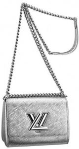 Louis Vuitton Silver Epi Twist Bag - Cruise 2015