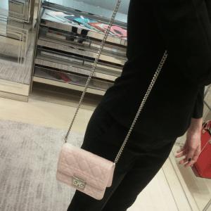 Miss Dior Beige Miss Dior Mini Pouch Bag