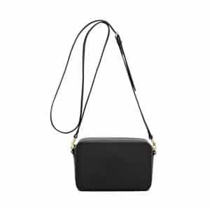 Mulberry Black Blossom Pochette with Strap Bag