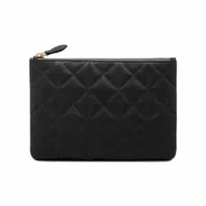 Mulberry Black Quilted Cara Delevingne Small Pouch