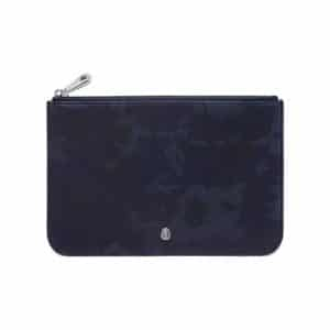 Mulberry Blue Camo Printed Cara Delevingne Small Pouch