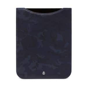 Mulberry Blue Camo Printed Cara Delevingne iPad Sleeve