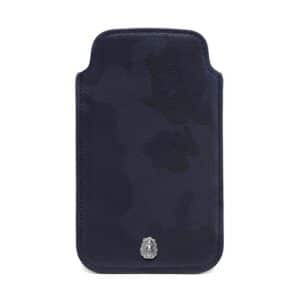 Mulberry Blue Camo Printed Cara Delevingne iPhone Cover