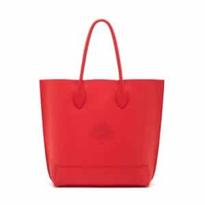 Mulberry Hibiscus Blossom Tote Bag