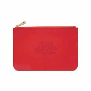 Mulberry Hibiscus Small Blossom Pouch