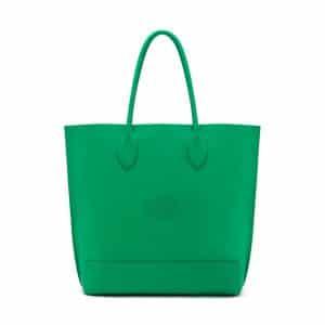 Mulberry Jungle Green Blossom Tote Bag