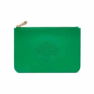 Mulberry Jungle Green Small Blossom Pouch