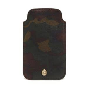 Mulberry Khaki Camo Printed Cara Delevingne iPhone Cover