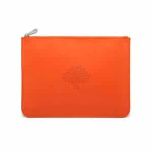 Mulberry Mandarin Large Blossom Pouch