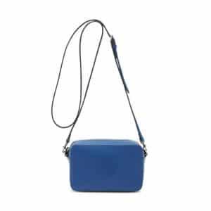 Mulberry Sea Blue Blossom Pochette with Strap Bag