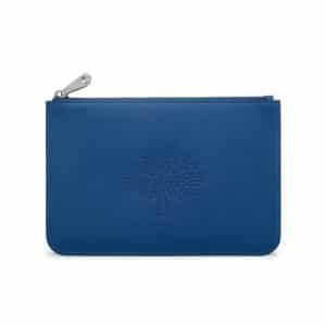 Mulberry Sea Blue Small Blossom Pouch