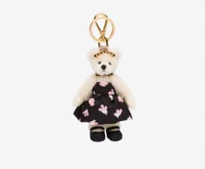 Prada Claire Fur Bear Charm