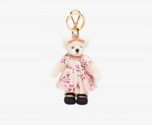 Prada Mary Fur Bear Charm