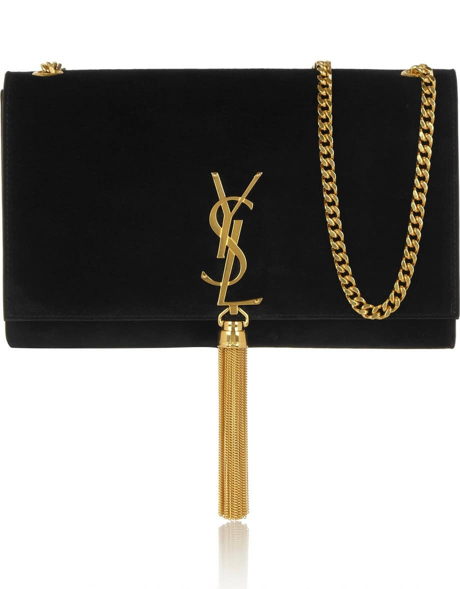yves saint bag - Saint Laurent Suede Bags for Fall / Winter 2014 | Spotted Fashion