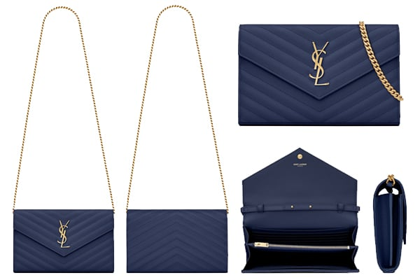 Bag Versus: Louis Vuitton, Dior and Saint Laurent Chain Wallets ...