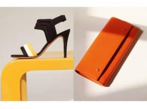 Celine Orange Wallet - Spring 2015