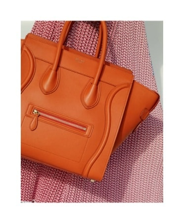 celine brown leather bag - Celine Spring 2015 Lookbook with New Mini Trapeze Croc Bag ...