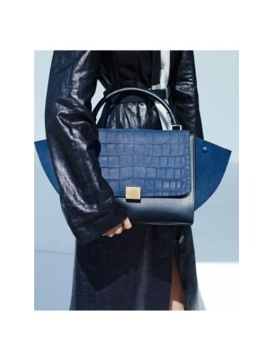 celine travel bags - Celine Spring 2015 Lookbook with New Mini Trapeze Croc Bag ...
