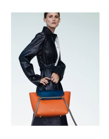 Celine Spring 2015 Lookbook with New Mini Trapeze Croc Bag ...