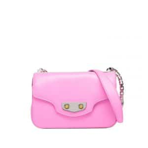 Balenciag Rose Bubble Gum Neo Classic Chain S Bag