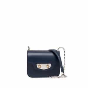 Balenciaga Navy Bleu Neo Classic Chain Mini Bag