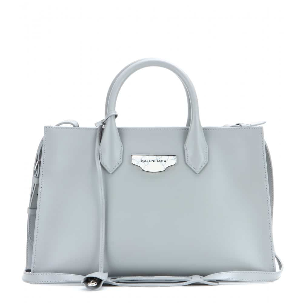 Balenciaga Grey Padlock Work Xs Bag