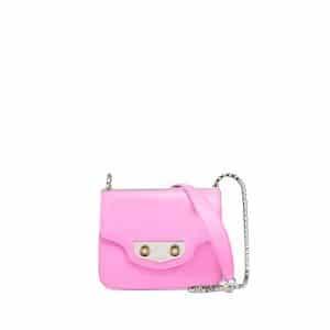 Balenciaga Rose Bubble Gum Neo Classic Chain Mini Bag