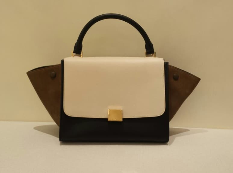 celine luggage tote mini - Celine Tricolor Bags from Cruise 2015 | Spotted Fashion