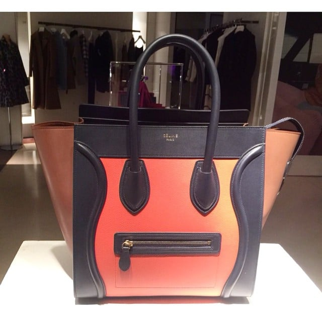 fe659923dd Celine Tricolor Bags from Cruise 2015
