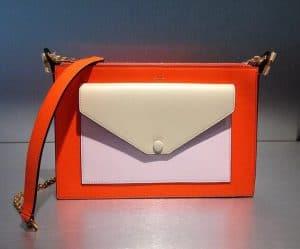 Celine Pink/Red/Beige Pocket Chain Bag - Cruise 2015