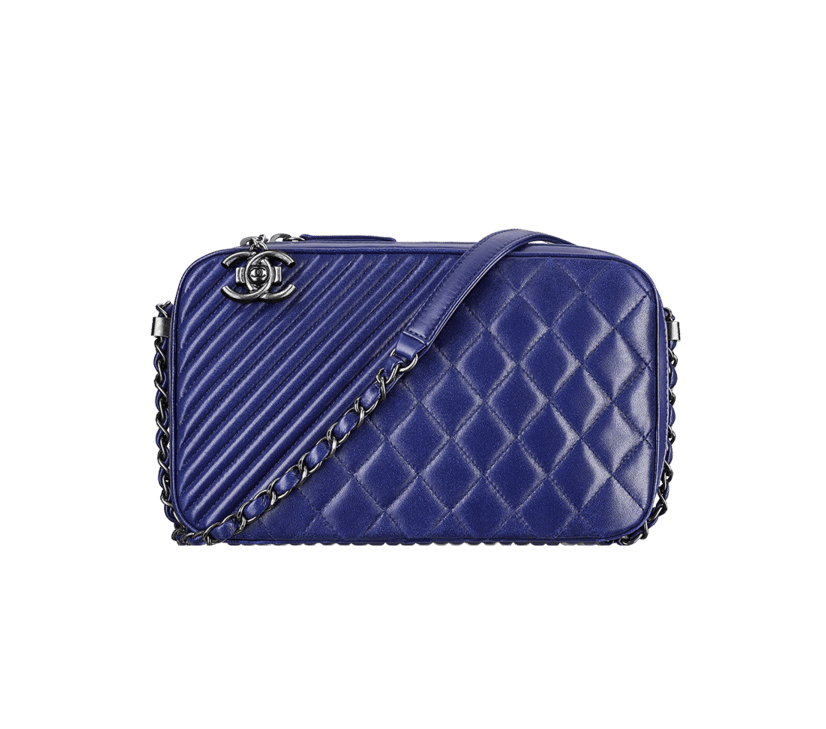 2721faec1ee799 Chanel Coco Boy Camera Case Bag Reference Guide | Spotted Fashion