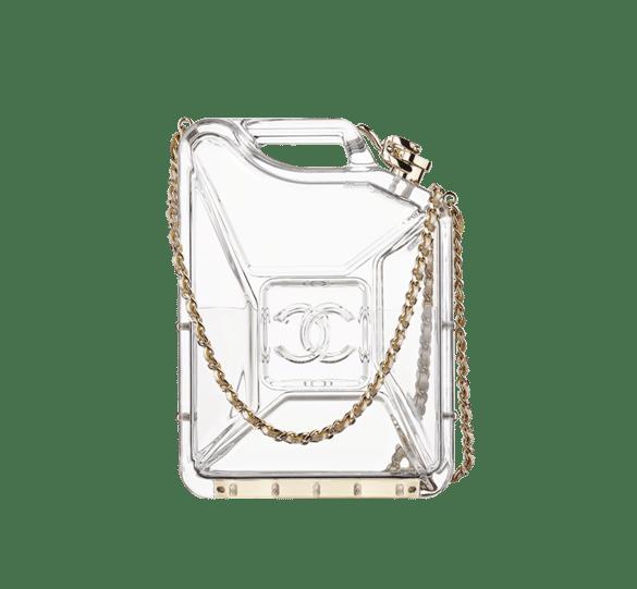 Chanel Plexiglass Dubai By Night Jerrycan Bag