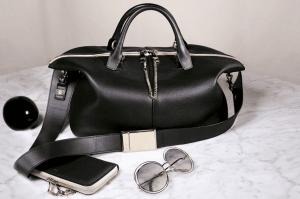 Chloe Black Baylee Bag and Long Zipped Wallet / Light Grey Carlina Sunglasses