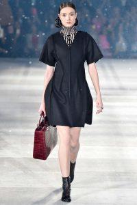 Dior Burgundy Crocodile Lady Dior Bag - Pre-Fall 2015