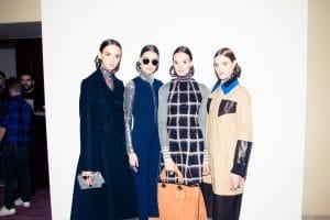 Dior Silver Flap Mini Bag / Tan Suede Diorissimo Bag - Pre-Fall 2015