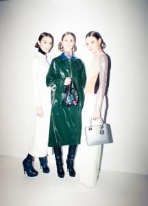 Dior Silver Lady Dior Bag - Pre-Fall 2015